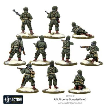 US Airborne Squad (Winter) 28mm – Bild 3