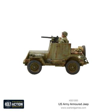 US Armoured Jeep 28mm – Bild 3