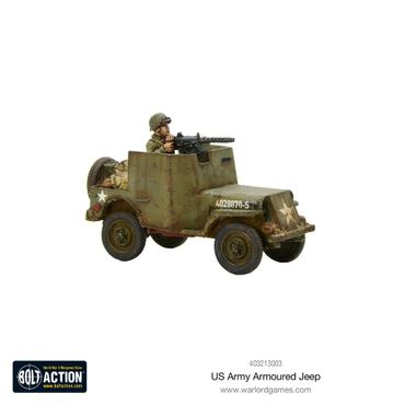 US Armoured Jeep 28mm – Bild 1