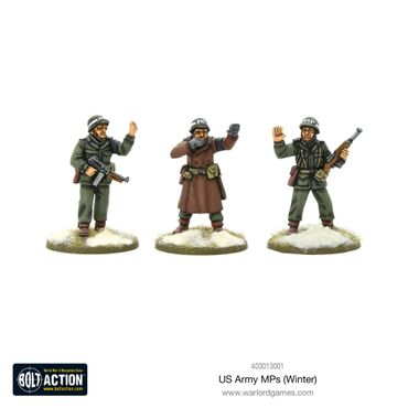 US Army MPs (Winter) 28mm