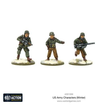 US Army Characters (Winter) 28mm – Bild 1