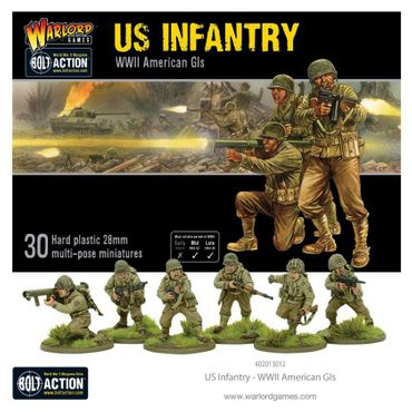 US Infantry American GIs 28mm