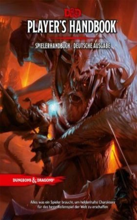 Dungeons & Dragons Spielerhandbuch 5th Edition 3. Auflage (Deutsch)