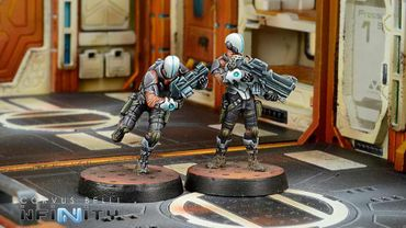 Nomads Prowlers (Spitfire, Combi Rifle, Light Flamethrower) – Bild 2