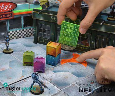 Infinity Silhouette Markers Pack Orange Fluor (4) – Bild 4