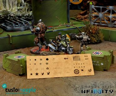 Infinity USAriadna Miniature Airbrush Stencil (1)