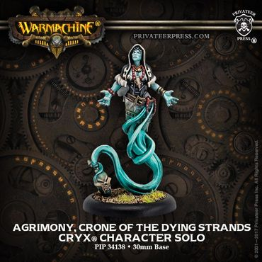 Cryx Agrimony, Crone of the Dying Strands Revenant Solo