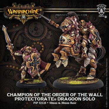 Protectorate of Menoth Champion of the Order of the Wall Solo