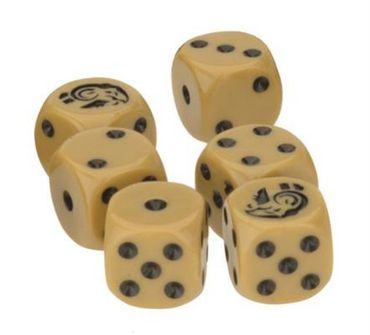 TANKS Italian Dice Set 16mm (6)