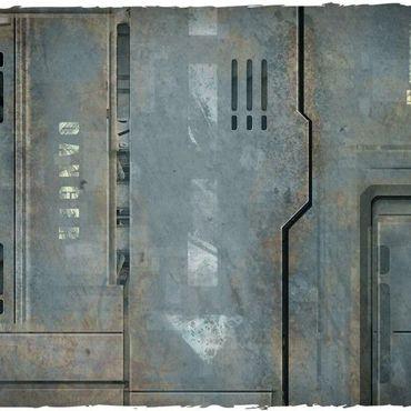 Deep Cut Studio Wargames Terrain Mat Space Hulk 4x6 – Bild 3