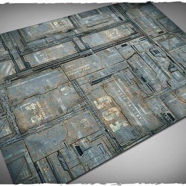 Deep Cut Studio Wargames Terrain Mat Space Hulk 4x6