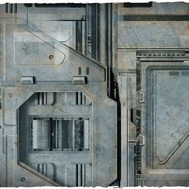 Deep Cut Studio Wargames Terrain Mat Space Hulk 4x6 – Bild 2