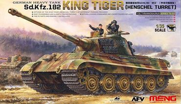 Meng German Heavy Tank Sd.Kfz.182 King Tiger (Henschel Turret) 1/35 – Bild 1