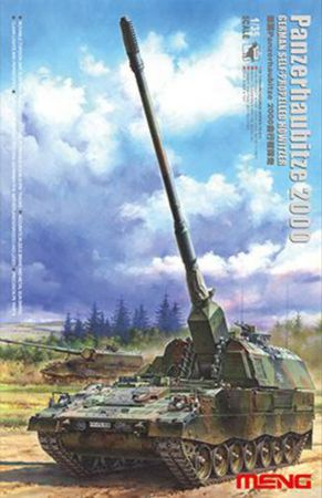 Meng German Panzerhaubitze 2000 Self-Propelled Howitzer 1/35