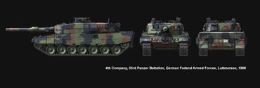 Meng German Main Battle Tank Leopard 2 A4 1/35 – Bild 8