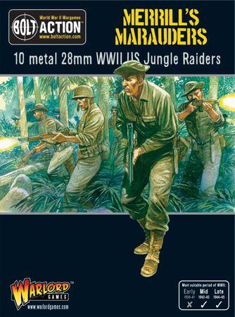 US Army Merrill's Marauders Squad 28mm