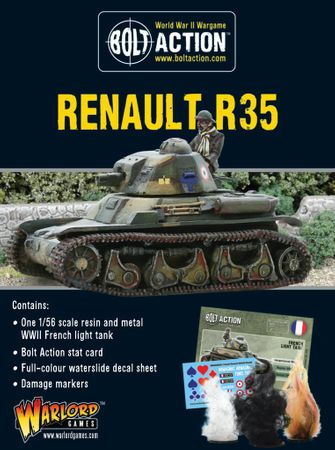 French Renault R35 Light Tank 28mm – Bild 1