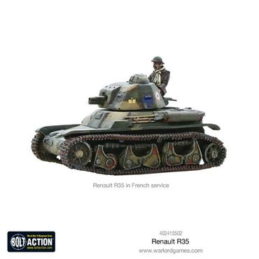 French Renault R35 Light Tank 28mm – Bild 3