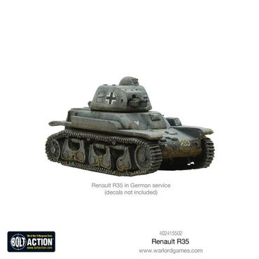 French Renault R35 Light Tank 28mm – Bild 4