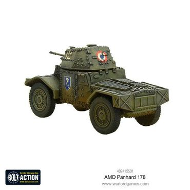 French AMD Panhard 178 Armoured Car 28mm – Bild 3