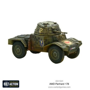 French AMD Panhard 178 Armoured Car 28mm – Bild 2