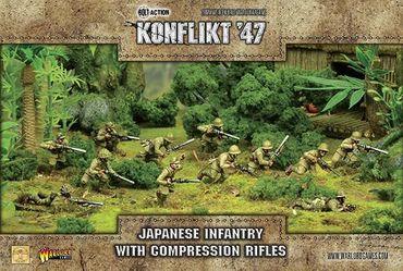 Konflikt 47 Japanese Infantry with Compression Rifles 28mm – Bild 1