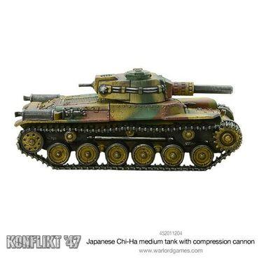 Konflikt 47 Chi-Ha Medium Tank with Compression Turret 28mm – Bild 3