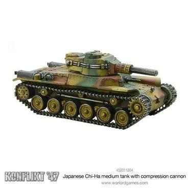 Konflikt 47 Chi-Ha Medium Tank with Compression Turret 28mm – Bild 2