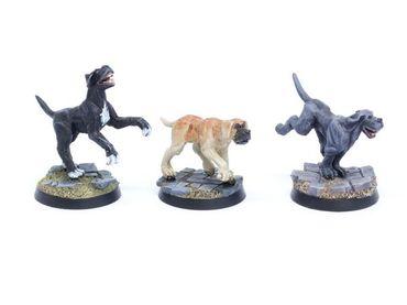 Hunde Set 2 Doggen (3) – Bild 1