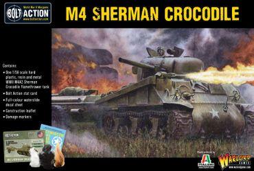 Sherman Crocodile Flamethrower Tank 28mm