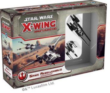 Star Wars X-Wing Saws Rebellenmiliz Erweiterung (Deutsch)