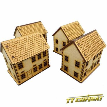 World War Townhouse Set 15mm