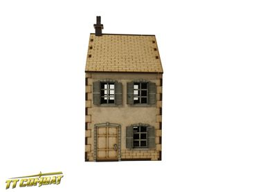 World War Terrace House 28mm