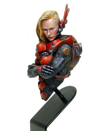 Infinity Acherontia Mobile Brigada Squad Bust