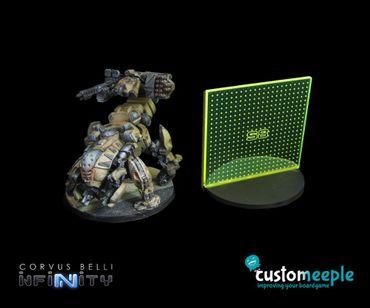 Infinity S8 Silhouette Marker Green Fluor (1) – Bild 1