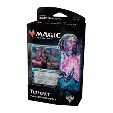 Magic Hauptset 2019 Planeswalker Deck Tezzeret (Deutsch)