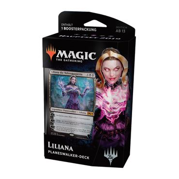 Magic Hauptset 2019 Planeswalker Deck Liliana (Deutsch)