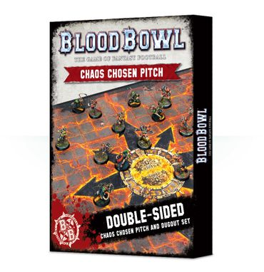 Blood Bowl Chaos Pitch and Dugouts