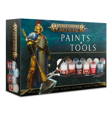 Age of Sigmar Paints and Tools Set