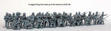American Civil War Union Infantry in sack coats Skirmishing 1861-1865 28mm – Bild 2