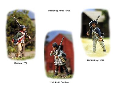 American War of Independence Continental Infantry 1776-1783 28mm – Bild 3