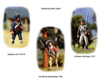 American War of Independence Continental Infantry 1776-1783 28mm – Bild 4
