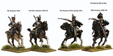 Napoleonic British Hussars 1808-1815 28mm – Bild 4