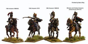 Napoleonic British Hussars 1808-1815 28mm – Bild 3
