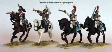 French Napoleonic Heavy Cavalry 1808-1815 28mm – Bild 2