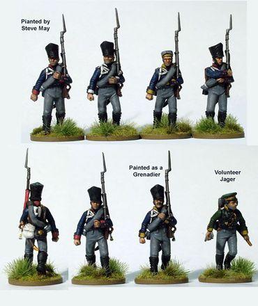 Prussian Napoleonic Line Infantry 1813-1815 28mm – Bild 4