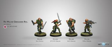 Ariadna 9th Wulver Grenadiers Regiment – Bild 1