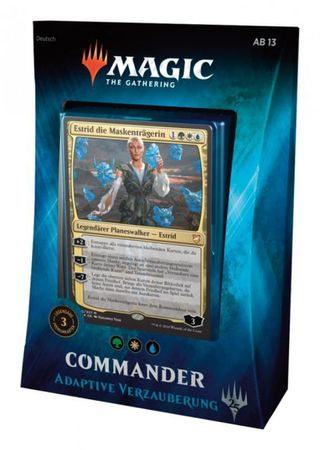 Magic Commander Deck 2018 Adaptive Verzauberung (Deutsch)