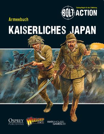 Bolt Action Armeebuch - Kaiserliches Japan (Deutsch) inkl. Miniatur