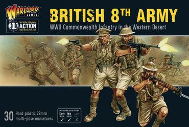 British 8th Army 28mm